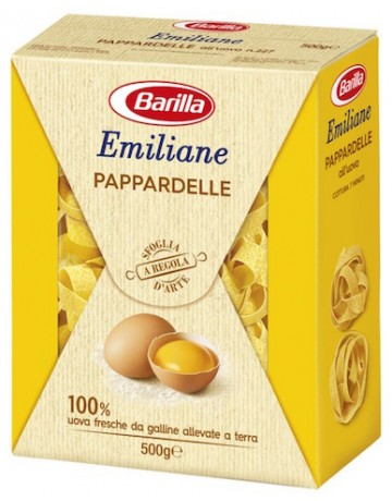 Emiliane pappardelle all' uovo, Barilla 500 g