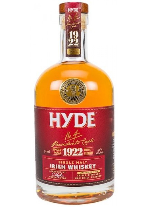 Hyde No. 4 Single Malt Cask Rum 700 ml