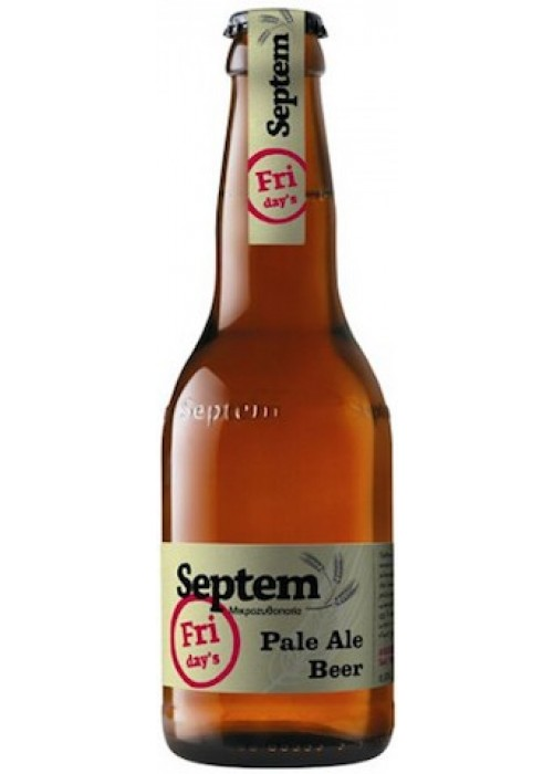 Friday's Pale Ale 330 ml, Septem
