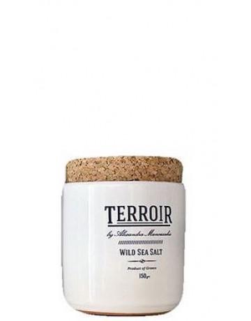 Terroir wild sea salt, Αλεξάνδρα Μανουσάκη