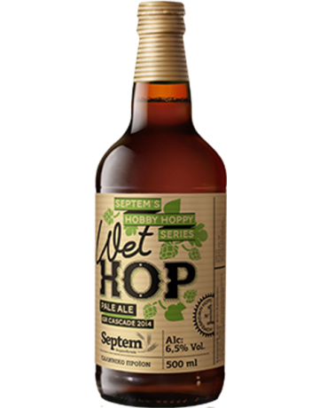 Wet Hop Pale Ale HHS 330 ml, Septem