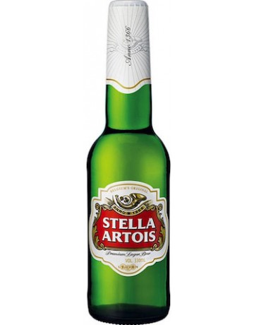 Stella Artois 330 ml, μη επιστρεφόμενη φιάλη