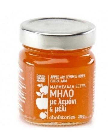 Χειροποίητη μαρμελάδα μήλο με λεμόνι και μέλι, Chefstories