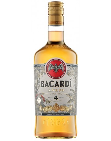 Bacardi Anejo Cuatro 4 Years Aged 700 ml