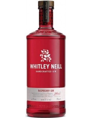Raspberry Gin, Whitley Neil Handcrafted Dry Gin 700 ml