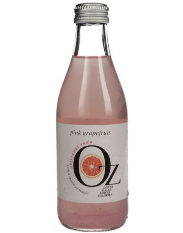 Oz, Artisanal Soda with a splash of pink grapefruit, 250 ml