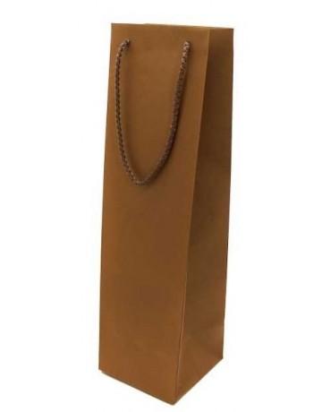 Χάρτινη σακούλα πολυτελείας μιας φιάλης