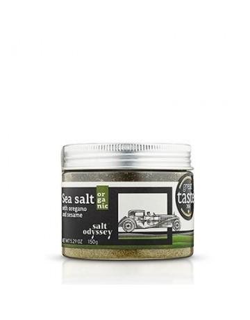 Αλάτι Μεσολογγίου με ρίγανη και σουσάμι 150 g, Salt Odyssey