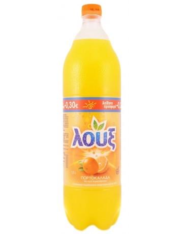 Πορτοκαλάδα με ανθρακικό 1,5 l, Λουξ