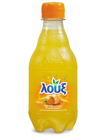 Πορτοκαλάδα με ανθρακικό Λουξ 330 ml
