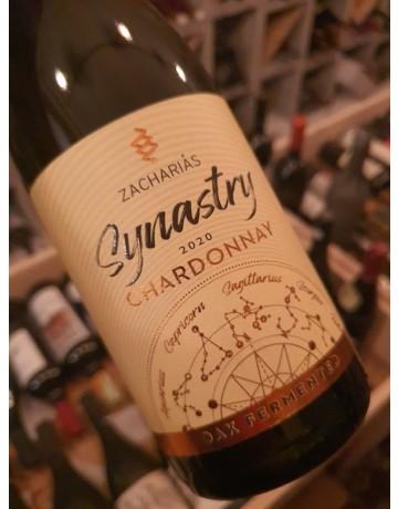 Synastry Chardonnay Oak Fermented, Οινοποιείο Ζαχαριά