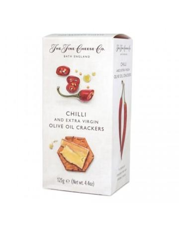 Κράκερ Με Καυτερή Πιπεριά Chilli, The Fine Cheese Co. 125 g