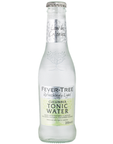 Refreshing Light Cucumber Tonic, Fever Tree