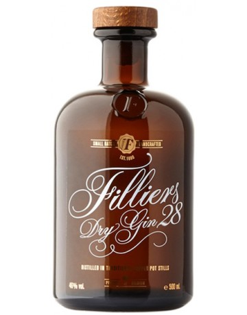 Filliers 28 gin small batch 500 ml