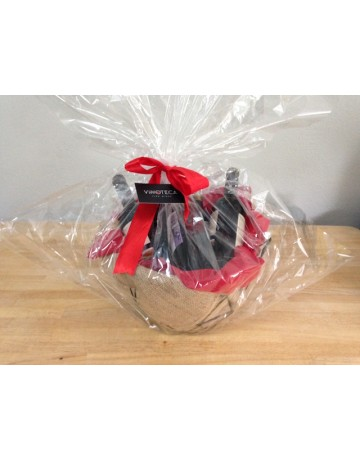 Καλάθι δώρου μεταλλικό 4-5 φιαλών