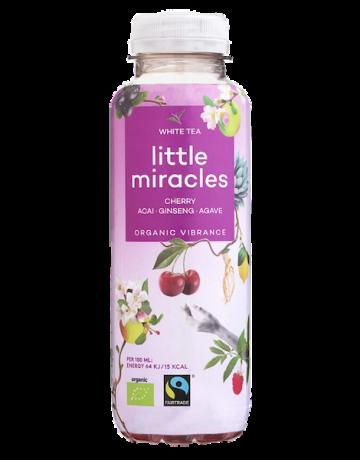 White Tea Cherry- Acai- Ginseng- Agave (BIO), Little Miracles 330 ml