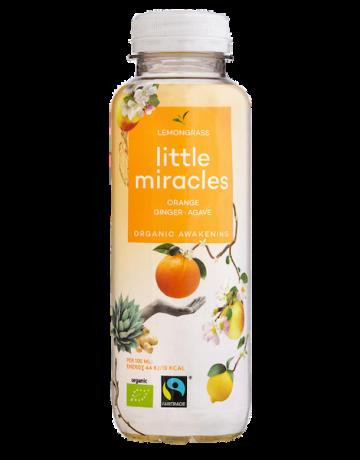 Lemongrass Orange- Ginseng- Agave (BIO), Little Miracles 330 ml
