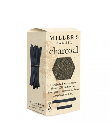 Κράκερ Charcoal, Artisan Biscuits 125 g