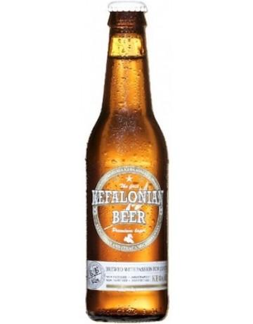 Kefalonian Beer Premium Lager 330 ml, Μικροζυθοποιία Κεφαλονιάς & Ιθάκης