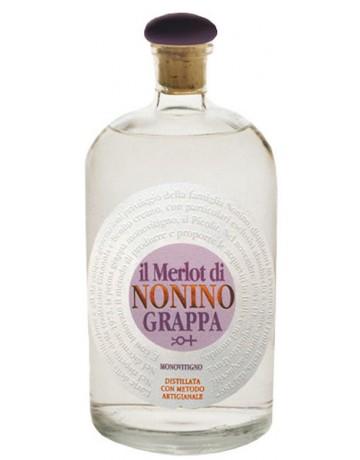 Grappa monovitigno il Merlot 700 ml., Nonino