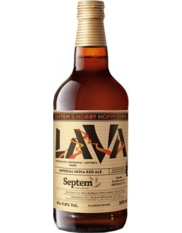 Lava Imperial red India Pale ale 500 ml, Septem