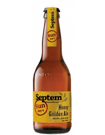 Sunday's Honey Golden Ale 330ml, Septem
