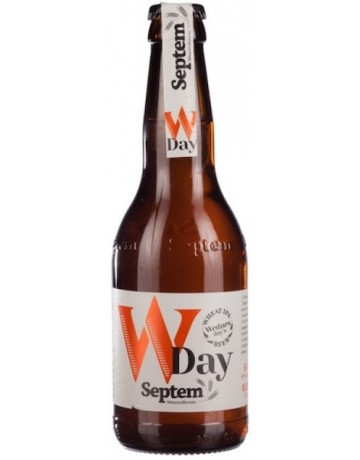 W day Wheat IPA 330 ml, Septem