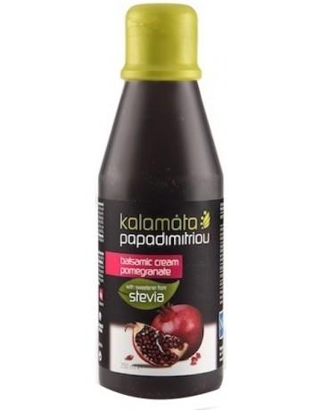 Κρέμα βαλσαμικού ρόδι με γλυκαντικό απο το φυτό στέβια, Kalamata Papadimitriou