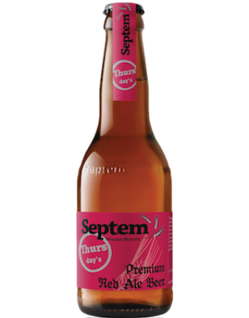Thursday's Red Ale 330 ml, Septem