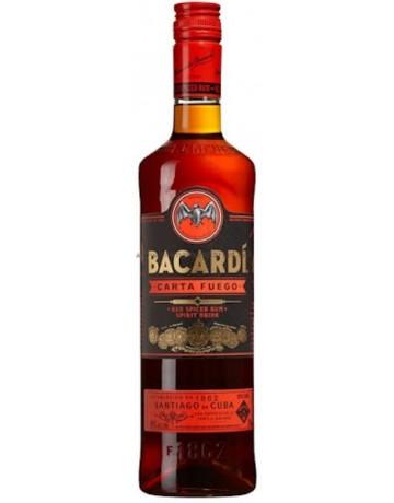 Bacardi Carta Fuego 700 ml