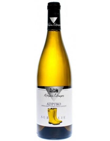 Ασύρτικο Sur Lie 2013, Κτήμα Εύχαρις (Cellar Aged Wine)
