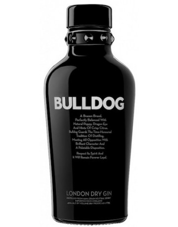 Bulldog London dry gin  700 ml