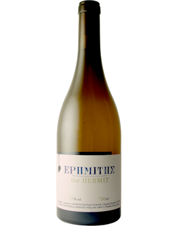 Ερημίτης Λευκό- The Hermit White 2018, Akriotou Microwinery (Cellar Aged Wine)
