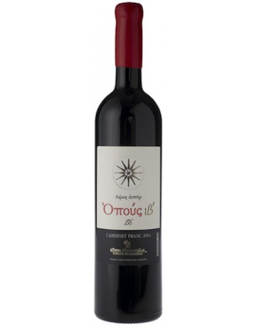 ΟΠΟΥΣ ιβ' Cabernet Franc 2004, Κτήμα Χατζημιχάλη (Cellar wine)