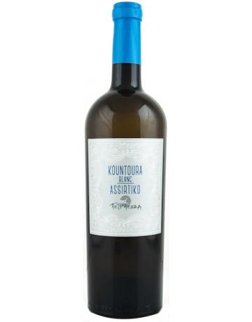 Kountoura Blanc- Assirtiko, Κτήμα Πετρήεσσα