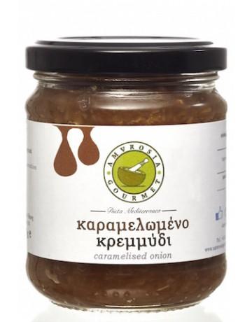 Καραμελωμένo κρεμμύδι, Amvrosia gourmet