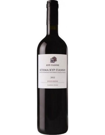 Κτήμα Κυρ- Γιάννη ερυθρός 2014, Κτήμα Κυρ- Γιάννη (Cellar Wine)
