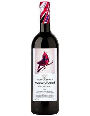 Μαγικό Βουνό Ερυθρό 2001, Chateau Nico Lazaridi (Cellar Aged Wine)
