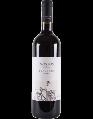 Nostos Grenache 2014, Οινοποιία Μανουσάκη (Cellar Aged Wine) (BIO)
