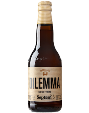 Dilemma Barleywine HHS 330 ml, Septem