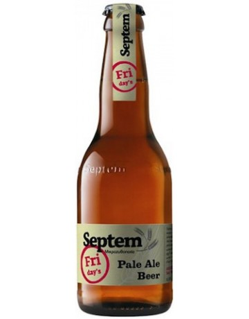 Friday's Pale Ale 330 ml, Septem