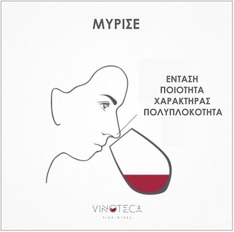 γευσιγνωσία κρασιού